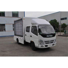 FOTON led advertising truck (double-row seat)